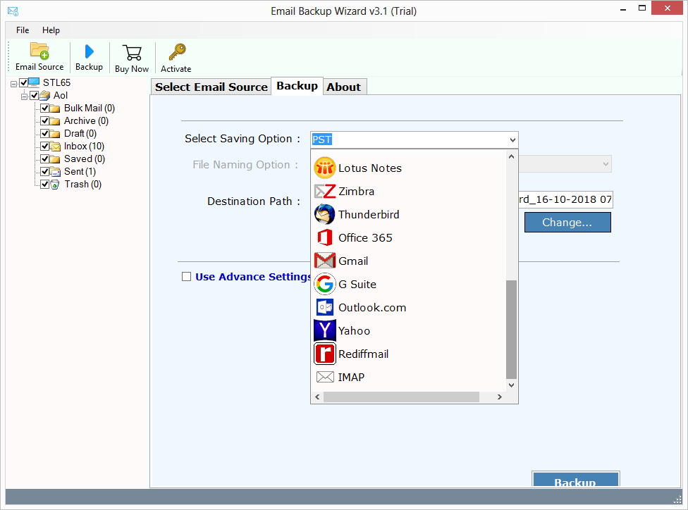 ZOOK AOL Backup Software – A Tool to Backup & Save AOL Emails to PC