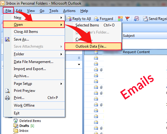 Know How to Add/Import PST File in Outlook 2019/2016/2013