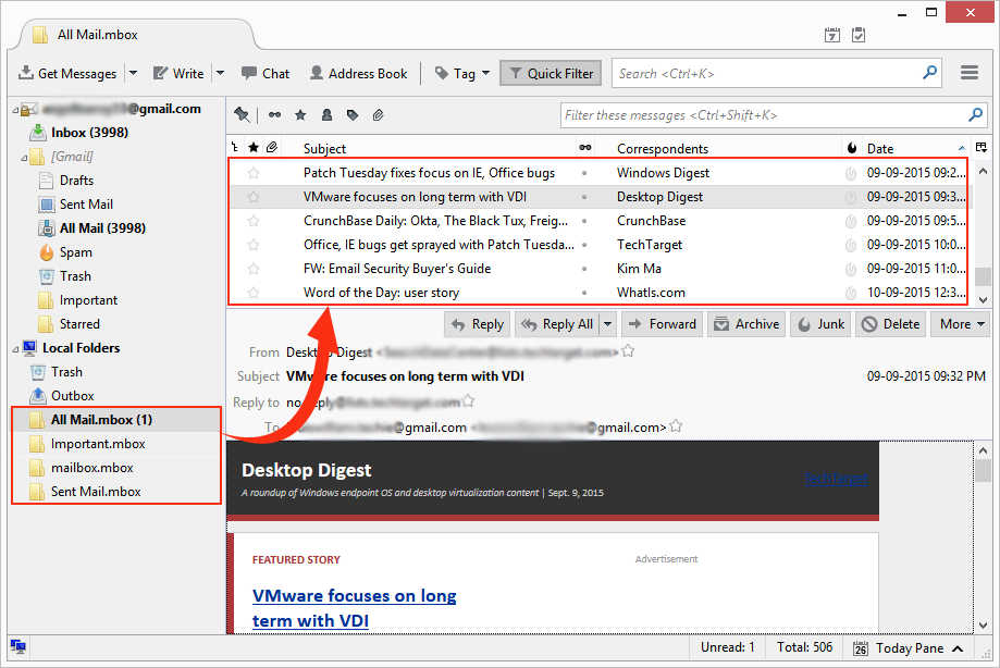 How Can I Open/Import MBOX File in Mozilla Thunderbird?