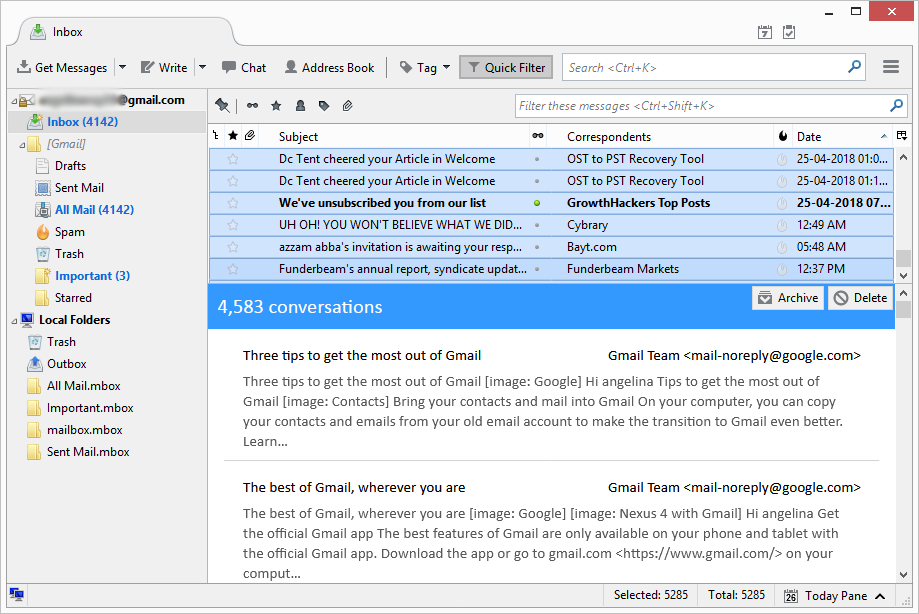Know How to Convert Thunderbird Emails to EML File in Simple
