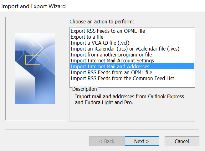 How to Import Eudora to Outlook 2016, 2013, 2010, 2007?