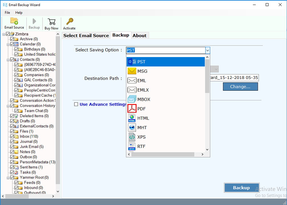 Zimbra Mail Server Migration Tool to Take Backup of Zimbra Mail